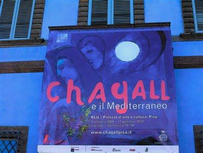 MARC CHAGALL AL BLU DI PISA (2/4)